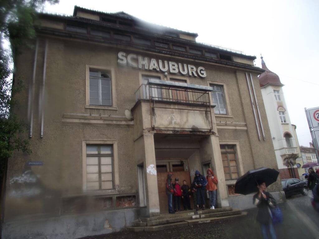 Schauburg Zittau 2013 schon keine Schönheit mehr...