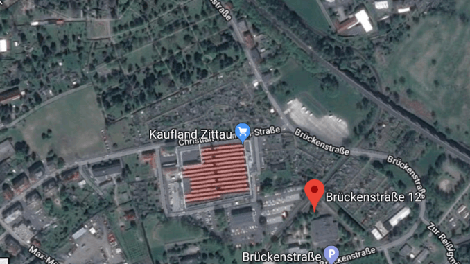 Brückenstraße 12 die Zittauer Luftmessstation - Quelle Google