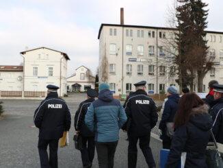 Quelle: Medieninformation der Polizei Sachsen - Ortsbegehung Veranstaltungsort